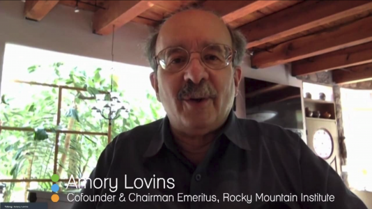 Amory Lovins - Cofounder of Rocky Mountain Institute